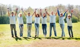 [사회복지]희망, 나눔,행복, 경기도 사회적기업이 함께합니다.